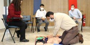 Dernek üyelerine ''Temel İlkyardım Eğitimi'' verildi
