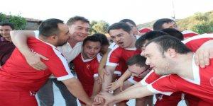 Down Sendromlular Futsal Milli Takımı'nın Kocaeli kampı başladı