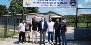 İhsaniyespor tesisleri açıldı
