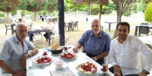 Köfteci İbo ve Albayrak kahvaltıda buluştu