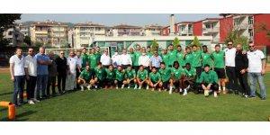 Büyükakın'dan Kocaelispor'a moral ziyareti