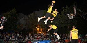 Çayırova'da sokak basketbolu coşkusu