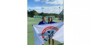 Yeni Umutlu tenisçiler madalyaya göz dikti