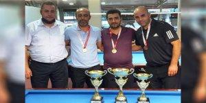 Üç Bant'ta Barış Taşdemir şampiyon