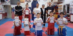 Körfez Uzakdoğu İhtisas'ta kuşak terfi sınavı yapıldı
