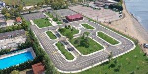 Çocuk Trafik Eğitim Parkı tamamlandı
