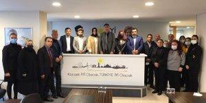 Şanbaz Doğu Türkistanlıları ağırladı