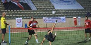 Ayak tenisçilerimiz Pamukkale'deydi
