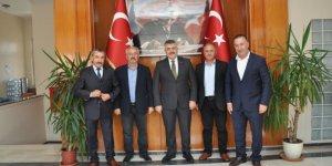 Belediye Derincespor'dan Veysel Tipioğlu'na ziyaret