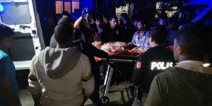 Bıçaklı kavgada bir kişi ağır yaralandı