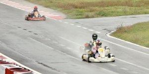 Karting Şampiyonası 7. ayak yarışları Kocaeli'de yapıldı