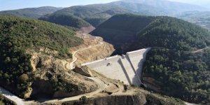 İhsaniye Barajı'nda temizlik çalışmaları tamamlandı