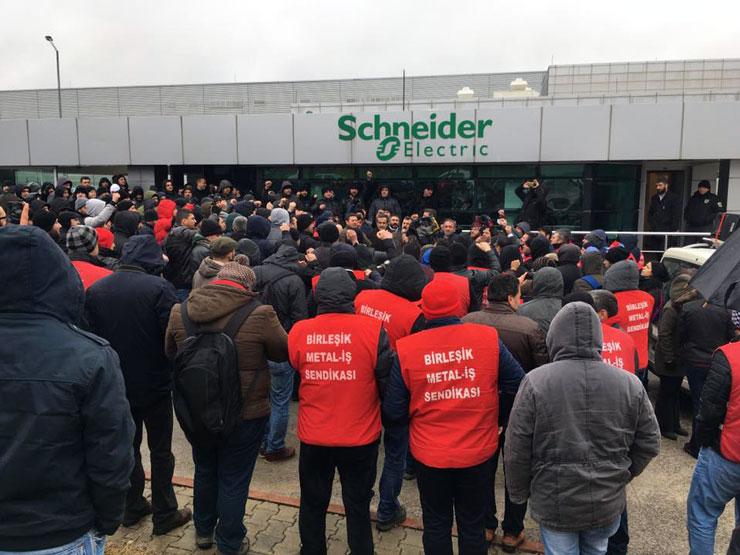 Schneider'da Grev