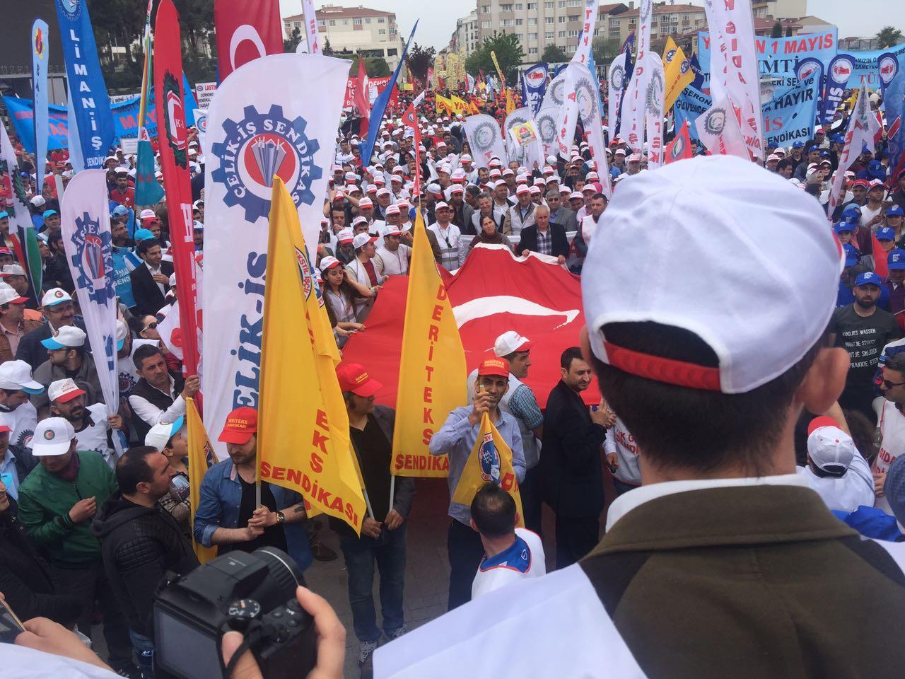 Gebze'de 1 Mayıs Coşkusu(3)