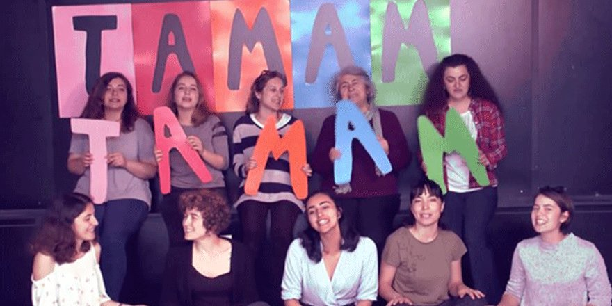 Nar Kadın Dayanışması'ndan şarkı: Vakit TAMAM